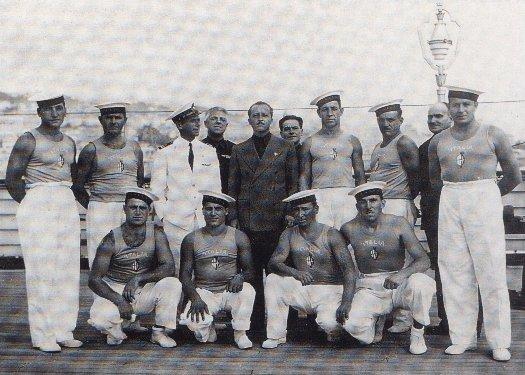mornarji, posadka, ladja Rex, posadka na ladji Rex