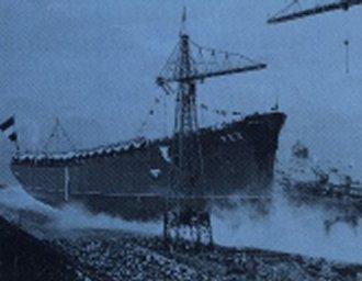 Ladja Rex, splavitev ladje, Marjan Kralj